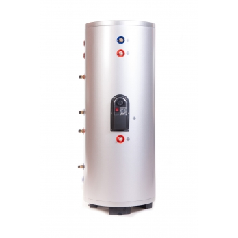 Water Tank 300 l. with 2 copper coils